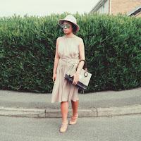 Ana Maddock-Shades of Nude-NA-KD Fashion- Pocket Dress