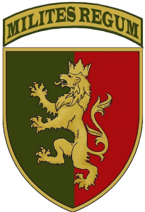 24th Mechanized Brigade named after King Danylo shoulder sleeve insignia