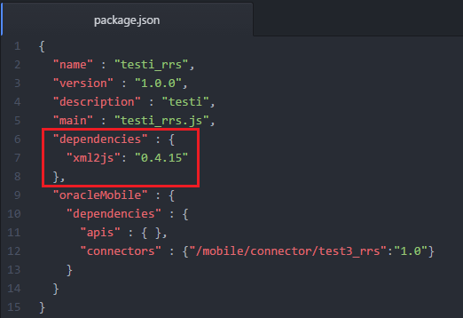 rsantrod's Blog: MCS: Calling SOAP connector bypassing XML/JSON