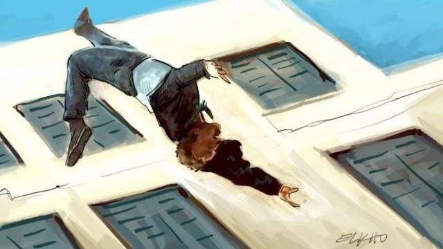 شاب بالحي الحسني يقدم على الانتحار عبر رمي نفسه من الطابق الثاني