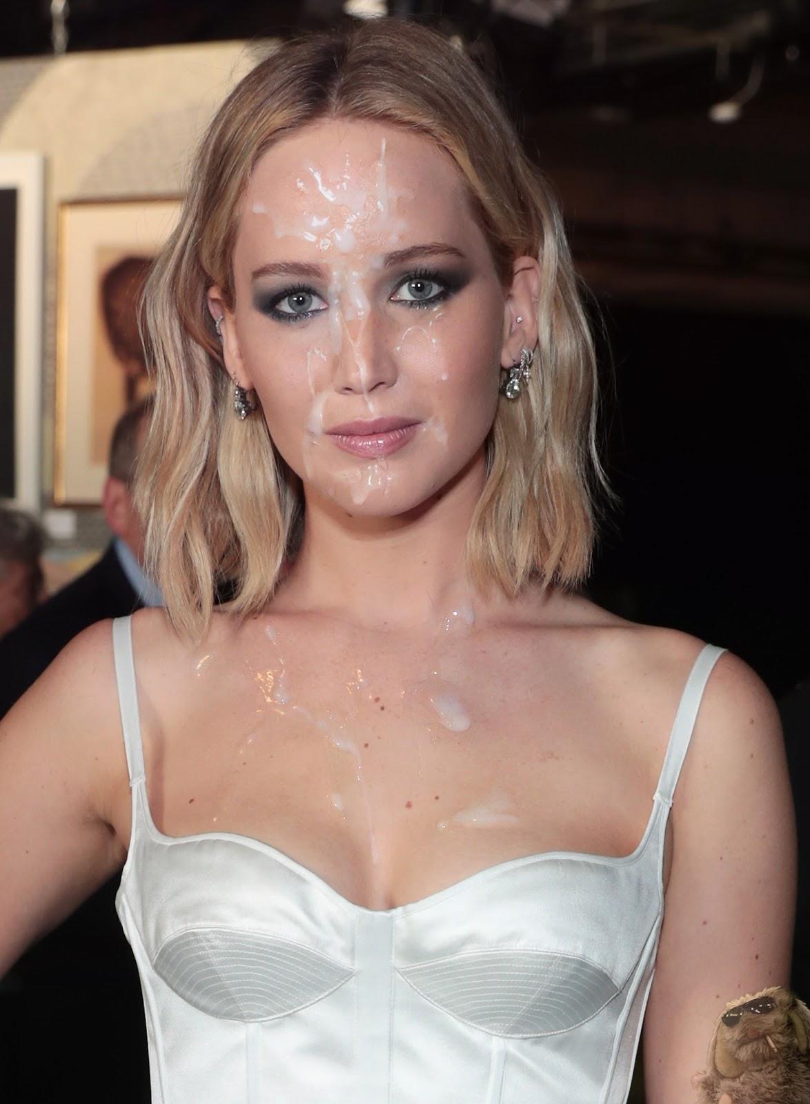 Jennifer Lawrence Facial Fake - Mr Floppy Fakes