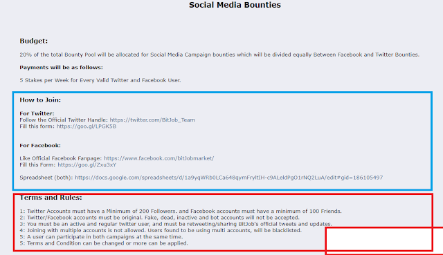 Tutorial on How to Follow the Social Media Bounty Facebook and Twitter