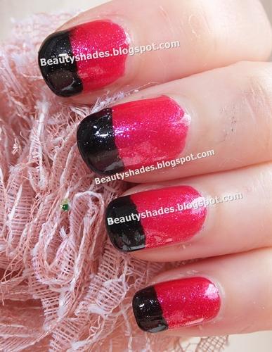 Sweet LadyBug Nail Art