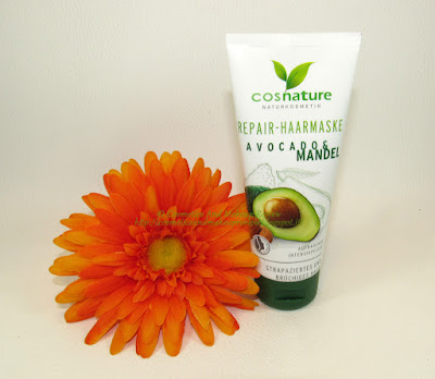 Cosnature Naturkosmetik - Maschera capelli riparatrice Avocado & Mandorla