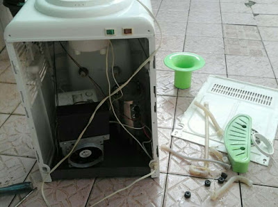 Cara Mengatasi Dispenser Bocor Air Meluap