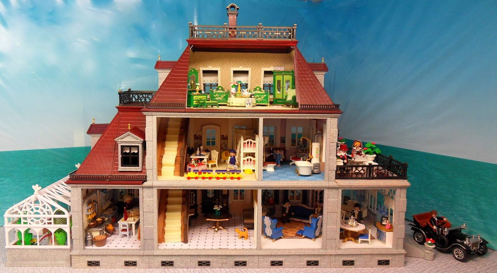 The Grey Mansion | Emma.J's Playmobil