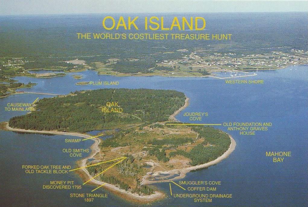 Oak Island Blackbeard