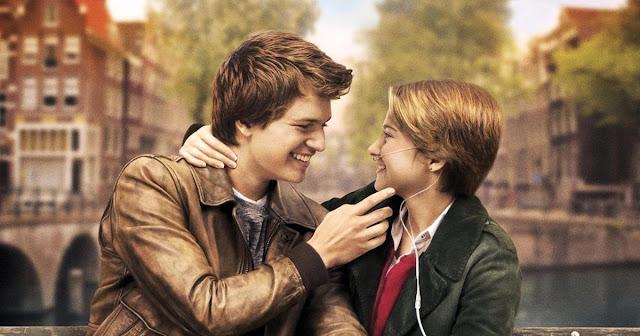 Los protagonistas de la película Bajo la misma estrella, Ansel Elgort y Shailene Woodley