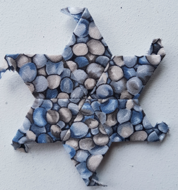 EPP pebble star | DevotedQuilter.blogspot.com