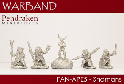 FAN-APE5   5 x Shamans