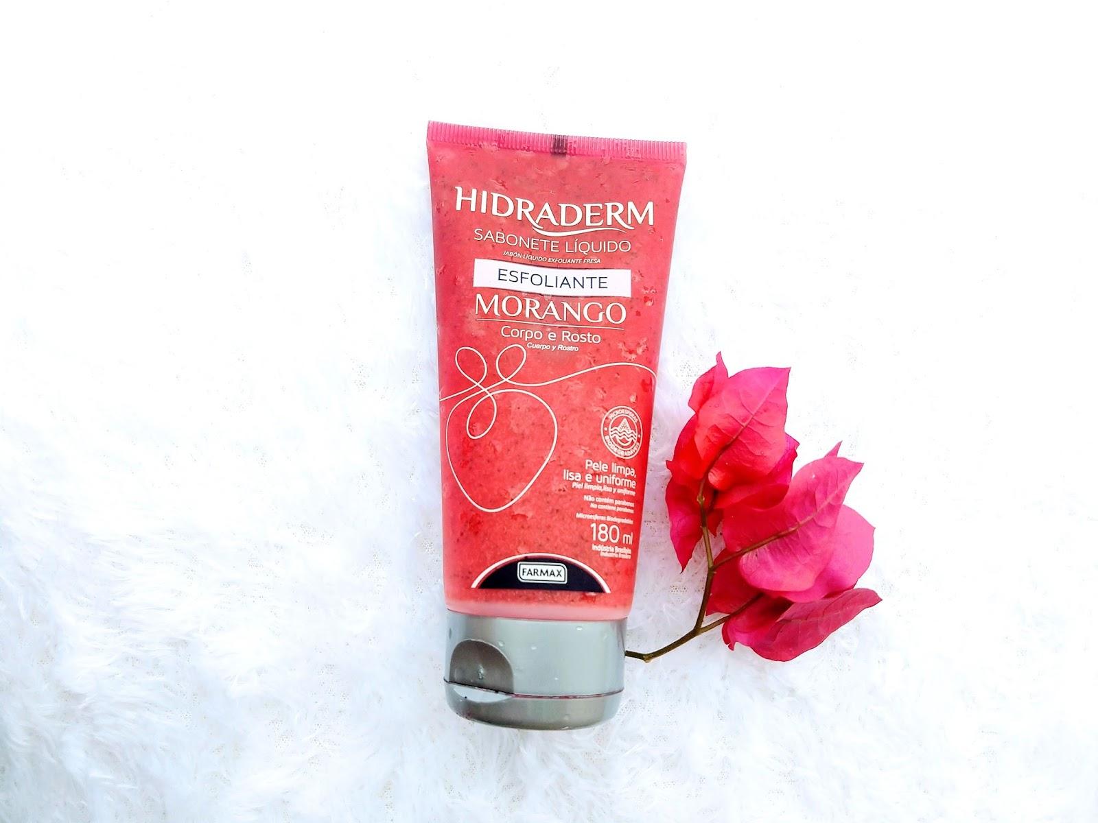 sabonete esfoliante farmax hidraderm