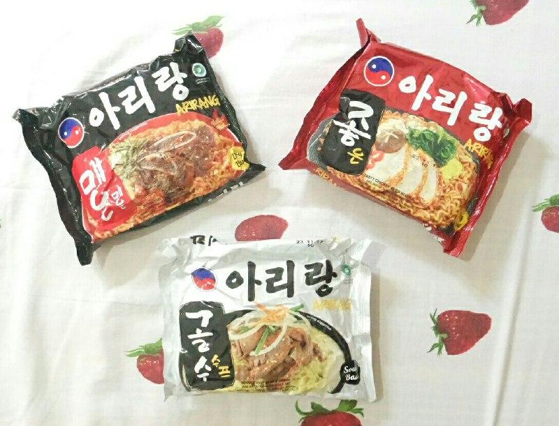 Menikmati Mie Korea Arirang Cukup Di Rumah Saja Kuliner Wisata