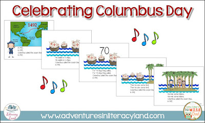Celebrating Columbus Day with kindergartners can include reading, singing, writing and making a ship. Here are a few ideas for teaching our early learners.