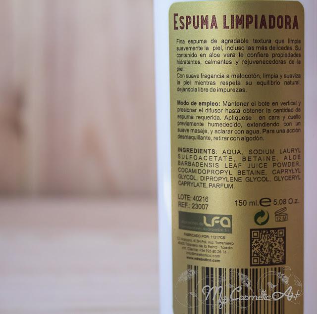Mi Rebotica: Espuma Limpiadora y Fluido Hidratante para pieles mixtas y grasas.