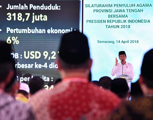 Jokowi: Agama dan Negara Harus Berjalan Beriringan