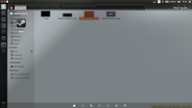Membuka Aplikasi Steam di Linux Ubuntu 16.04