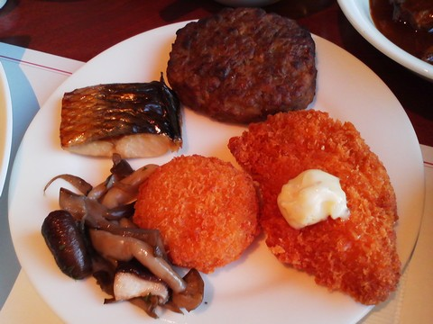 惣菜1 オーセントホテル小樽カサブランカ