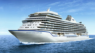 Regent Seven Seas Cruises - New Seven Seas Explorer - Watch Her Christening Live.
