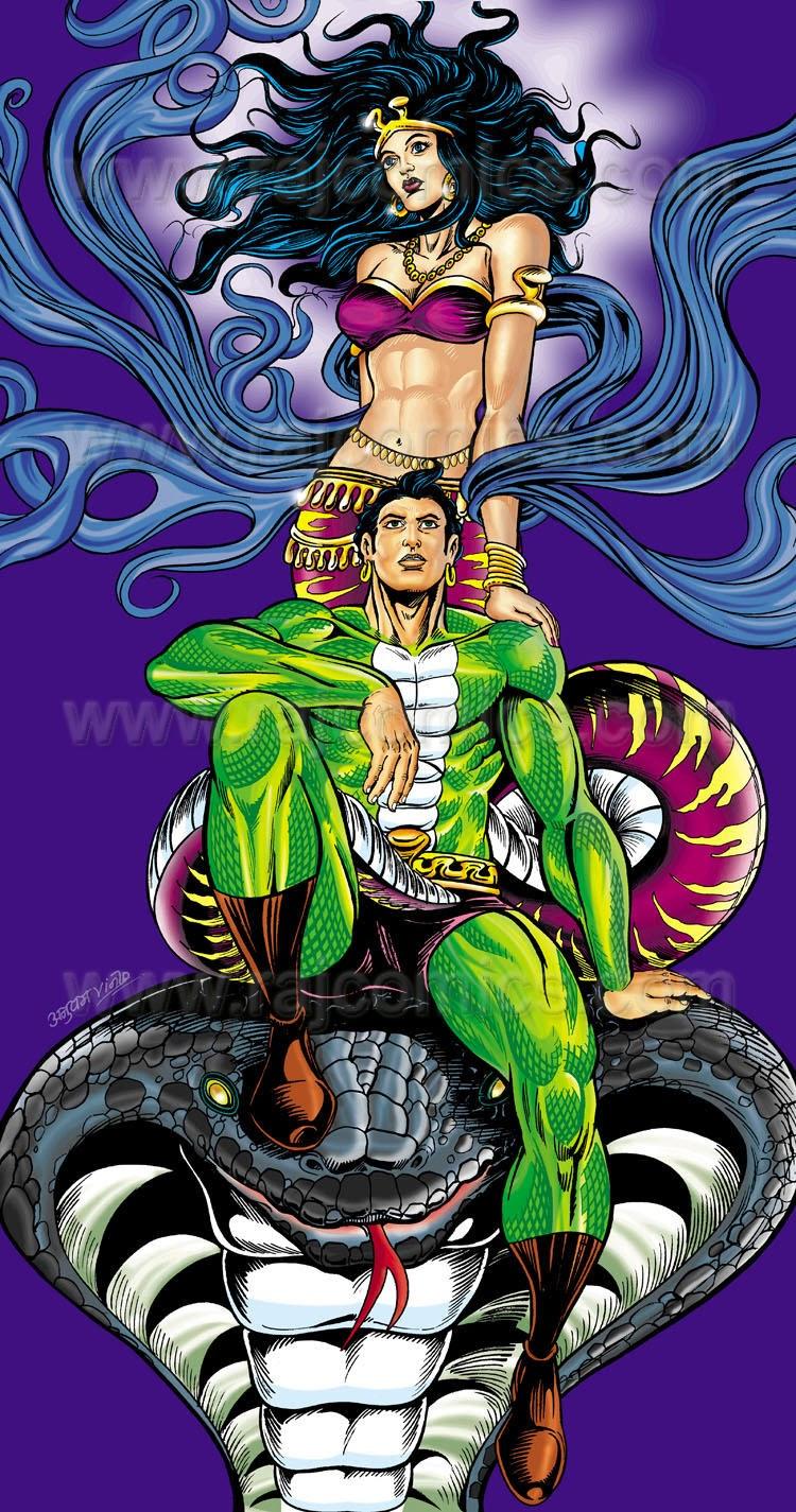 Nagraj and Visarpi Raj Comics