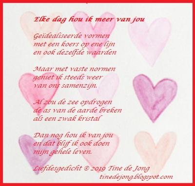 Gedichten En Verhalen Uit Het Leven Elke Dag Hou Ik Meer Van Jou
