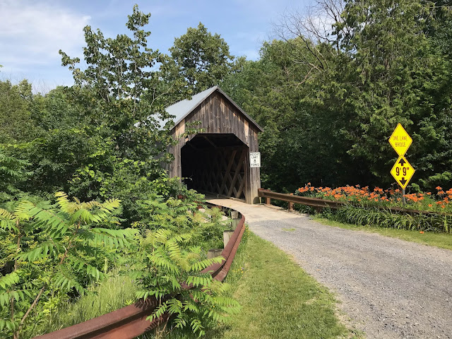 Halpin Covered Bridge near Middlebury, VT