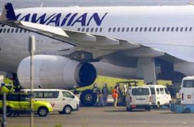 Pesawat Hawaiian Airlines Buat Pendaratan Cemas Di Tokyo