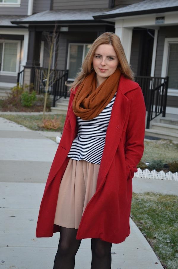 stripes & scarlet