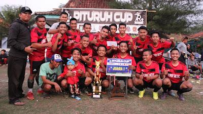 AKHIRI DAHAGA, PITURUH FC RAIH MAHKOTA JUARA PITURUH CUP 2018