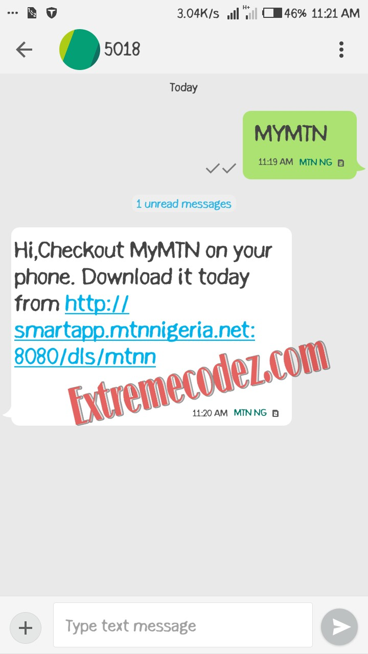 Download MTN MyApp And Get Free 500MB Data Bonus Extreme Codez