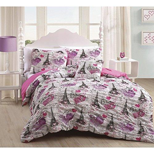Paris Bedding Full Girls