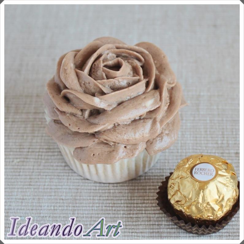 Cupcake de Ferrero