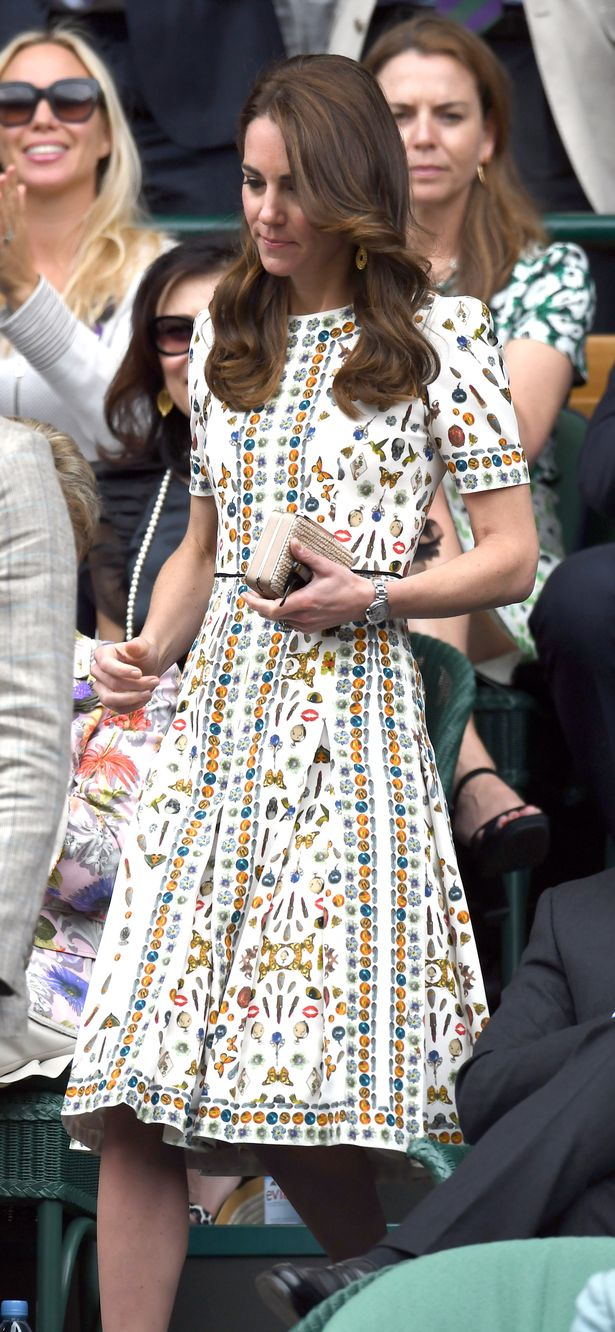 Wimbledon, Kate Middleton, Duchess of Cambridge, Alexander McQueen