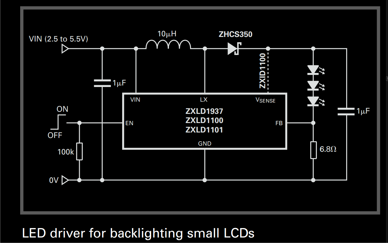 10 Watt Led Driver Circuit Diagram Lowrider Hydraulic Wiring Make This For Backlighting Small Lcd