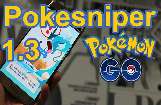 Pokesniper APK v1.3 - Captura todos los pokemon raros desde tu Android