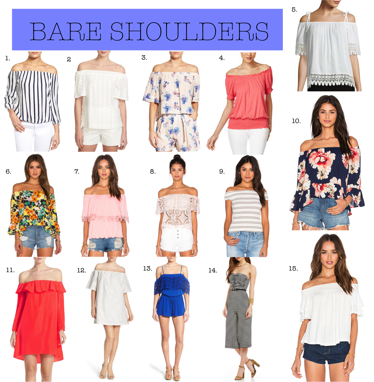 a9a309f3e1a6 MOODY GIRL IN STYLE  Moody Picks  Bare Shoulders
