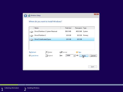 14 - Cara Install Windows 10