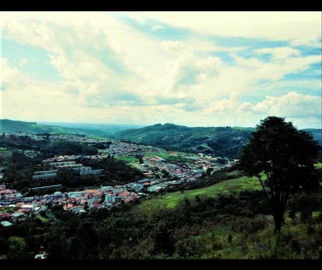 Vista do Mirante No Teleférico Serra Negra