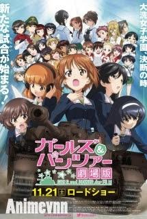 Girls und Panzer Movie -  2015 Poster