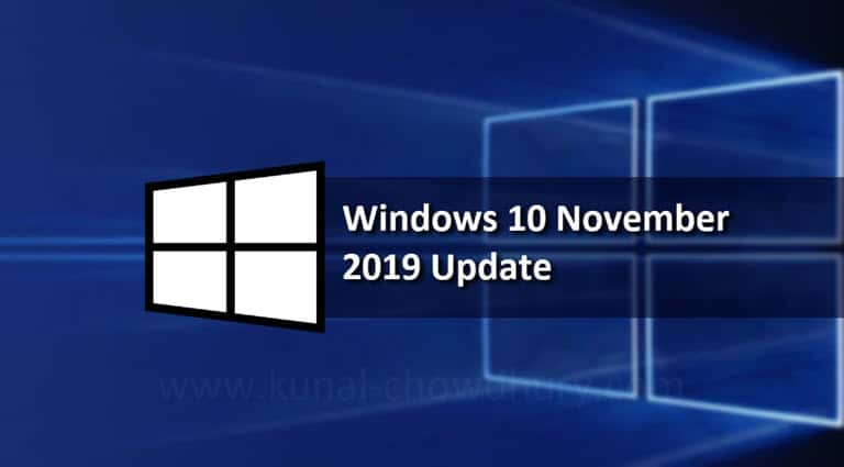 Windows 10 November 2019 Update started rolling out, and here's everything that you would like to know