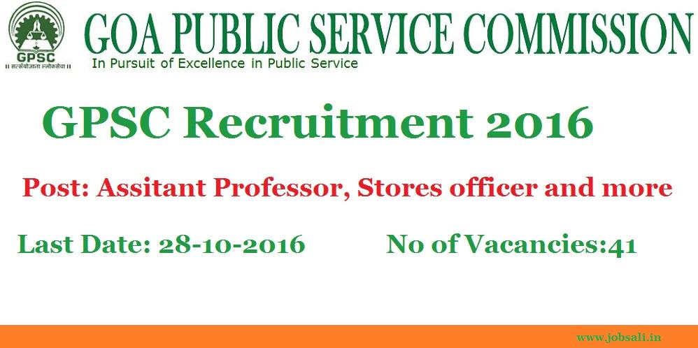GPSC EXam, Govt Jobs in Goa, GOA PSC Syllabus