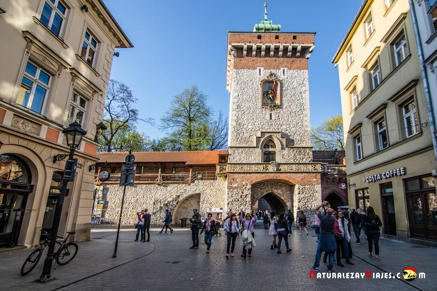 Puerta San Florián, Cracovia