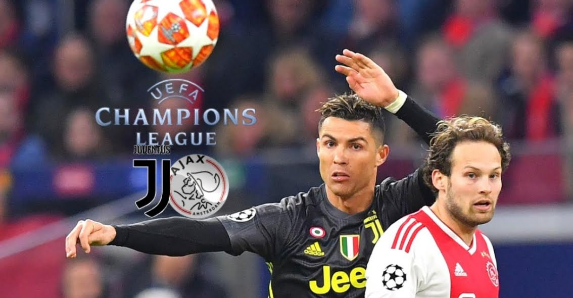 Vedere Juventus Ajax Rojadiretca Streaming Gratis con CR7 Cristiano Ronaldo.