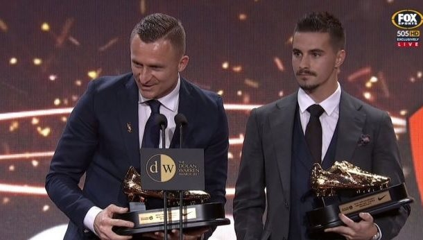 Besart Berisha awarded with Golden Shoe