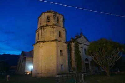 gereja oslob cuartel of oslob Osmena Peak, moalboal, oslob, cebu, filipina, phillipines