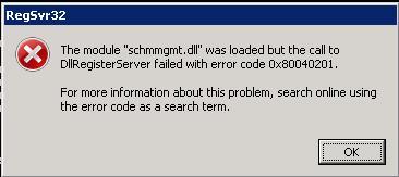 Active Directory Error:
