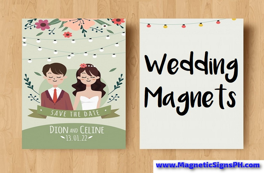 Wedding invitation magnets souvenirs magneticsignsph wedding invitation magnets souvenirs stopboris Choice Image