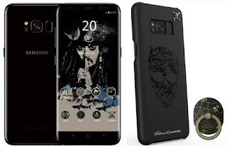 سامسونج تطلق نسخة خاصة من هاتف Galaxy S8 لعشاق سلسلة افلام قراصنة الكاريبي