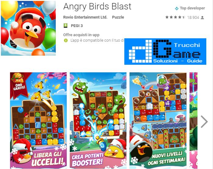 Soluzioni Angry Birds Blast livello 51 52 53 54 55 56 57 58 59 60 | Trucchi e  Walkthrough level