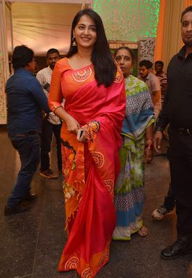 Anushka Shetty Beautiful Saree Stills, Sexy Anushka Heroine Hot 6