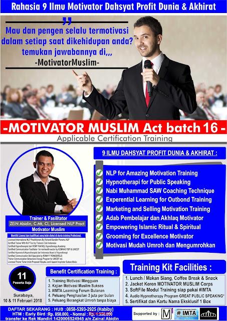 Poster Pelatihan Menjadi Motivator, Motivator Muslim Act batch 15, Pelatihan Motivator Muslim, Motivator Muslim Indonesia, Workshop Public Speaking, Workshop Menjadi Motivator, Pelatihan Motivator Muda